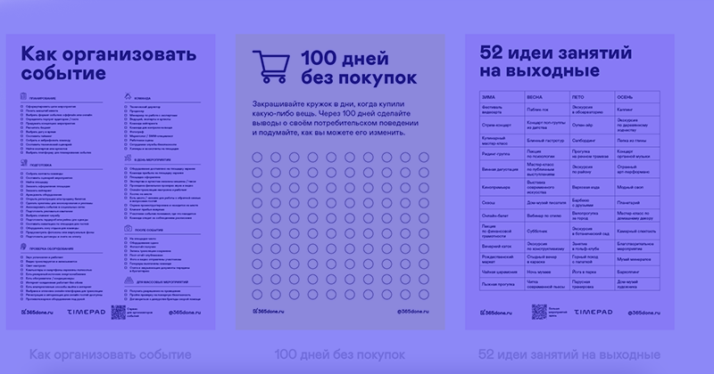 Самый быстрый способ создать чек-лист: конструктор 365done.ru