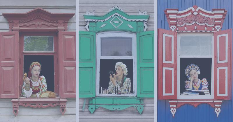 Знакомьтесь, фотопроект «Русские красавицы ждут окончания самоизоляции»