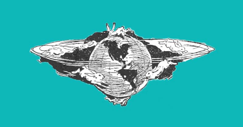 EarthApp: Гринпис иIsobar состарили Землю. Вам натакой планете жить незахочется