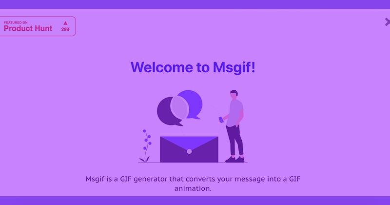 Как быстро ибесплатно создать GIF-сообщение
