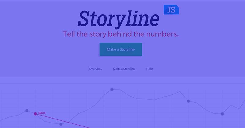 Как создать ленту времени (таймлайн) затри шага в Storyline JS